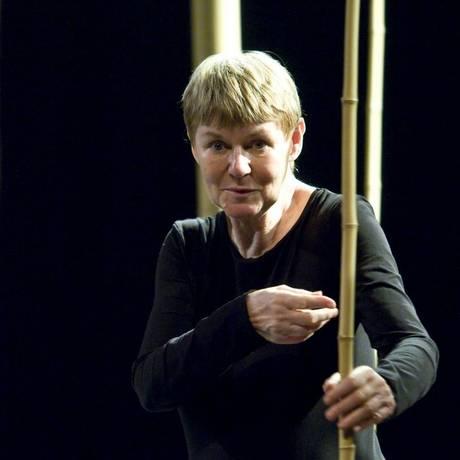 """Marie-Hélène: a diretora no Teatro Dulcina, onde esteve com """"A flauta mágica"""", em 2011: de volta à cidade para apresentar outro clássico Foto: Divulgação/Renato Velasco"""