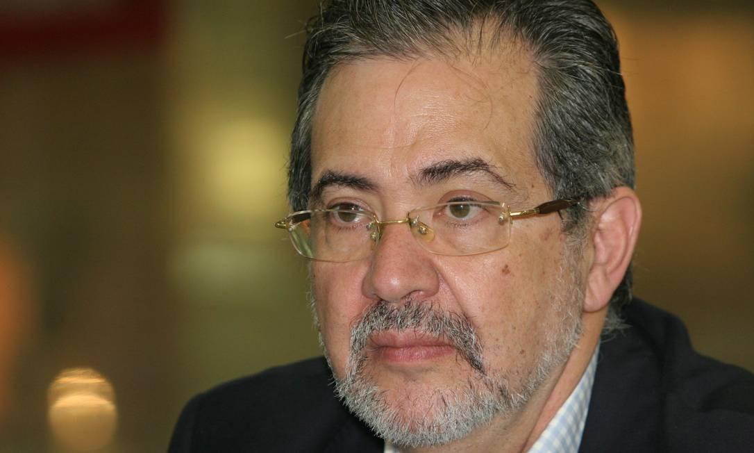 """Miguel Henrique Otero. Diretor do """"El Nacional"""" afirmou que Venezuela vive um novo capítulo de cerceamento de liberdade de expressão Foto: Manuel Sarda / Agência O Globo"""