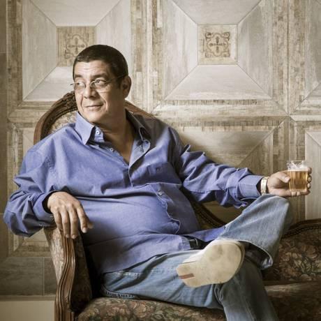 O cantor e compositor Zeca Pagodinho Foto: Leo Martins / Agência O Globo