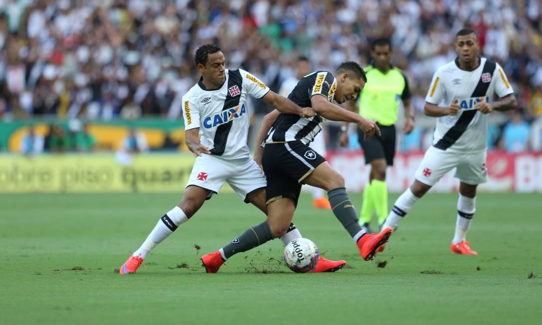 Vasco e Botafogo fazem no Maracanã o primeiro jogo da final do Carioca de 2015 Guilherme Pinto / Agência O Globo