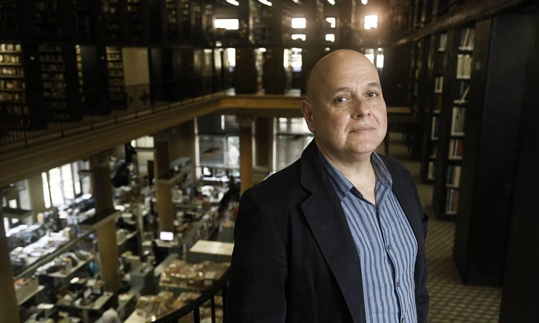 "Renato Lessa, presidente da Biblioteca Nacional: ""Já ensugamos a casa"" Foto: Camilla Maia / Camilla Maia"