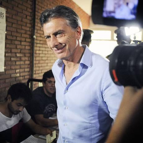O chefe do governo da cidade de Buenos Aires Mauricio Macri Foto: GUILLERMO VIANA/ AFP