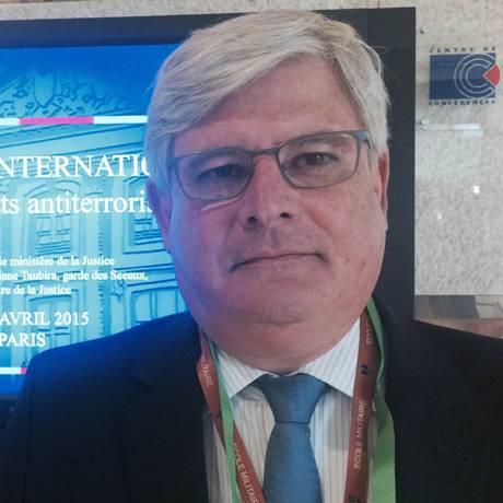 Janot também participou do seminário 'Encontros Internacionais dos Magistrados Antiterroristas' Foto: O Globo / Fernando Eichenberg