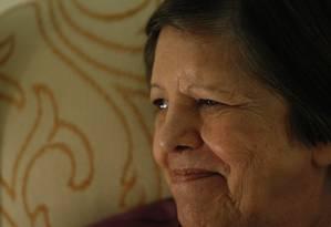 Inês Etienne Romeu foi mantida em cárcere privado na Casa da Morte em Petrópolis Foto: Marcos Tristão / Agência O Globo