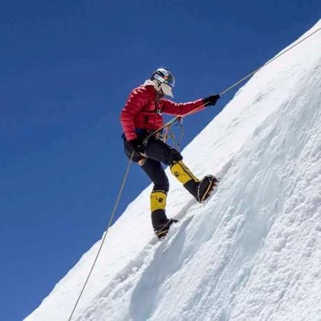 Alexandre pretendia chegar ao cume do Everest no dia 20 de maio Foto: Arquivo pessoal