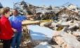 Dilma visitou áreas atingidas por tornado