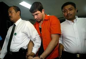 Rodrigo Gularte, preso desde 2004 por tráfico de drogas e condenado à morte pela Indonésia Foto: Dita Alangkara