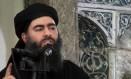 Abu Bakr al-Baghdadi: desde a semana passada circulam rumores de que o líder do Estado islâmico foi ferido em um bombardeio Foto: Uncredited / AP/5-7-2014
