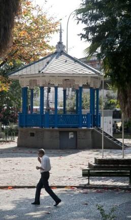Coreto do Jardim do Méier Foto: Adriana Lorete / O Globo
