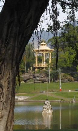 Coreto da Quinta da Boa Vista Foto: Custódio Coimbra / O Globo