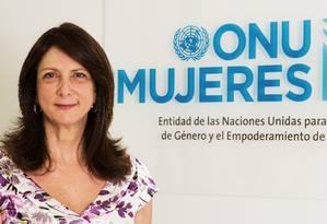 Luiza Carvalho, diretora regional da ONU Mulheres para América Latina e Caribe Foto: Divulgação
