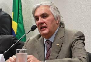 O senador Delcídio Amaral (PT-MS) Foto: Ailton de Freitas/23-4-2013