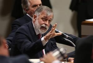 Ex-diretor de Serviços Paulo Roberto Costa Foto: André Coelho / Agência O Globo
