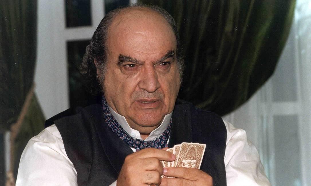 Antonio Abujamra na novela 'Terra Nostra' Foto: Divulgação