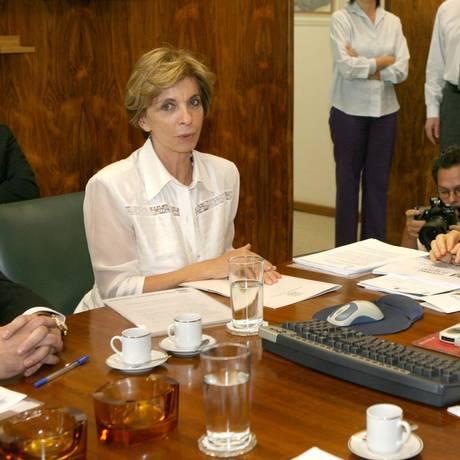 A ex-governadora do Rio Grande do Sul, Yeda Crusius Foto: Givaldo Barbosa/24-4-2007 / Agência O Globo