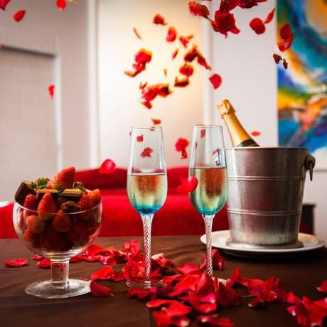 O Gallant Hotel disponibiliza suítess para o Dia da Noiva, com serviços variados Foto: Bárbara Lopes / Agência O Globo