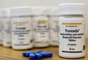 Medicamentos. Antirretroviral usado em infectados: pesquisa diz que vacina estimula resposta imunológica durante tratamento Foto: GUSTAVO MIRANDA/02-10-2014