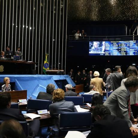 Senado prorroga aplicação de novo indexador na correção de dívidas de estados e municípios Foto: Ailton de Freitas / Agência O Globo