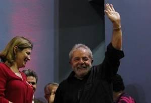 O ex-presidente Lula Foto: Michel Filho/24-4-2015