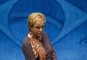 A senadora Marta Suplicy Foto: André Coelho
