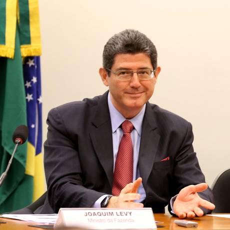 O Ministro da Fazenda Joaquim Levy na Comissão da Câmara dos Deputados Foto: Ailton de Freitas / Agência O Globo