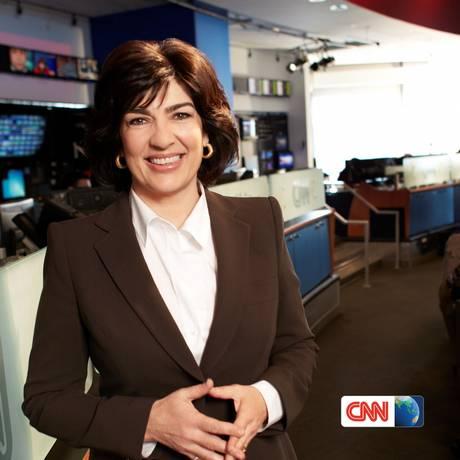 Christiane Amanpour é correspondente-chefe de assuntos internacionais da CNN Foto: Reprodução CNN