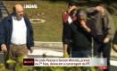 Ricardo Pessoa e Gerson Almada deixam carceragam da PF Foto: Reprodução Globonews
