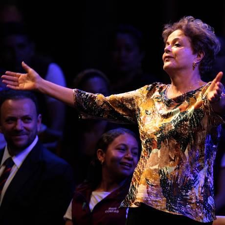 A presidente Dilma Rousseff participa do 3º Festival da Juventude Rural Foto: Jorge William