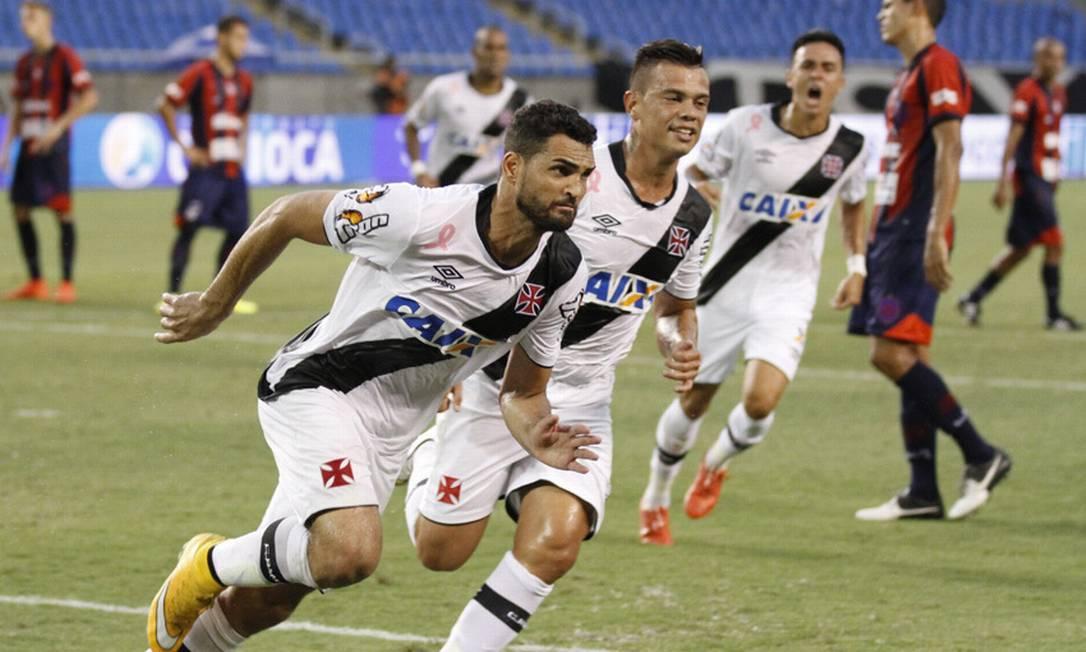 Gilberto marcou seu primeiro gol pelo Vasco na vitória por 1 a 0 sobre o Bonsucesso Marcelo Sadio / Vasco