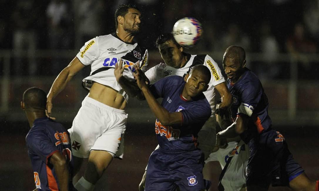 Em jogo bastante movimentado contra o Friburguense, o Vasco acabou derrotado por 5 a 4 Marcelo Sadio / Vasco