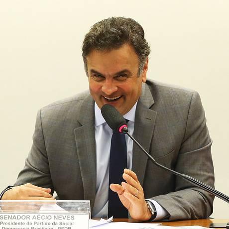 O senador Aécio Neves (PSDB-MG) Foto: Ailton de Freitas16-04-2015