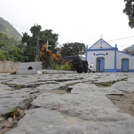 No Camorim, a Capela São Gonçalo do Amarante, construída em 1625 pelos escravos Foto: Pedro Teixeira / Agência O Globo