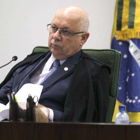 O ministro do STF, Teori Zavasck Foto: Givaldo Barbosa/28-4-2015 / Agência O Globo