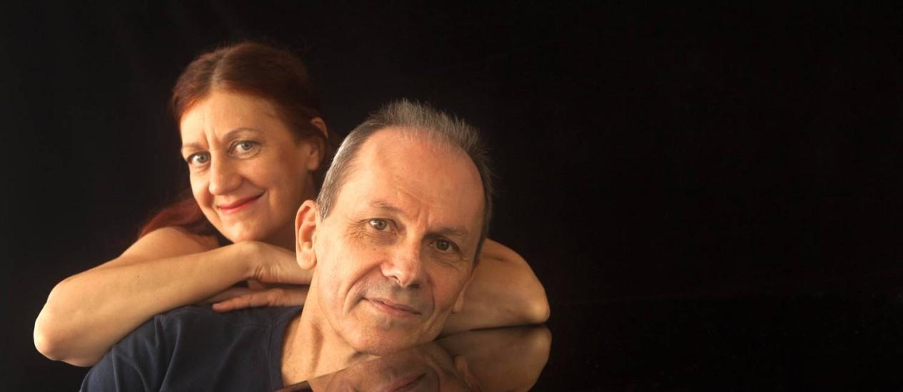 Ná e Wisnik: trabalho traz canções feitas entre 1978 e 2014, oito nunca gravadas Foto: Divulgação/Gal Oppido