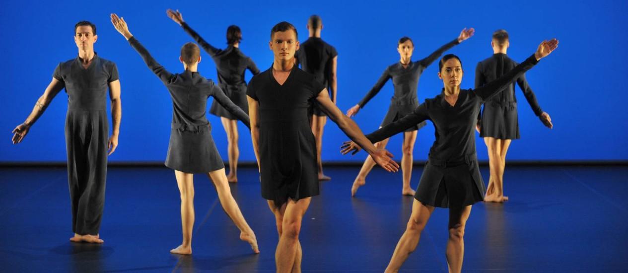 A companhia de Michael Clark que se apresenta na terceira edição do Festival Boticário na Dança Foto: HUGO GLENDINNING / divulgação/HUGO GLENDINNING