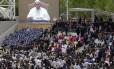 Mensagem do Papa Francisco é transmitida durante cerimônia de abertura da Expo 2015, em Milão, na Itália