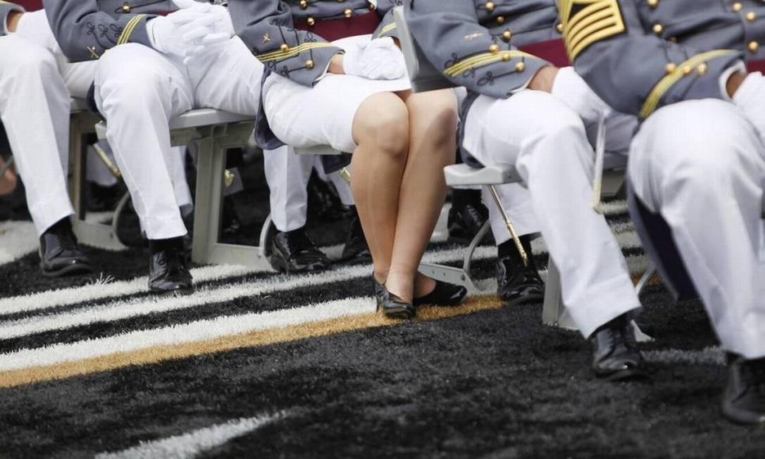 Homens e mulheres do Exército experienciam o crime em circunstâncias diferentes Foto: NYT