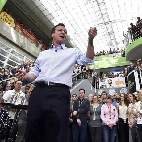 David Cameron Foto: toby melville/AFP