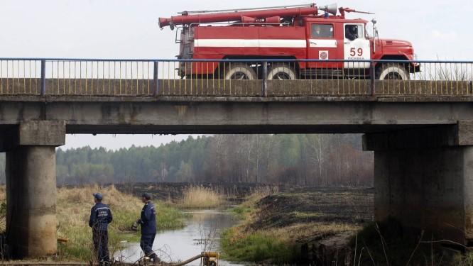 Zona ao redor de Chernobyl teve danos florestais Foto: ANATOLII STEPANOV / AFP