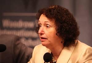 Teresa. Limites sobre dívida federal nunca foram definidos Foto: Michael Darden/Wilson Center/1-7-2014