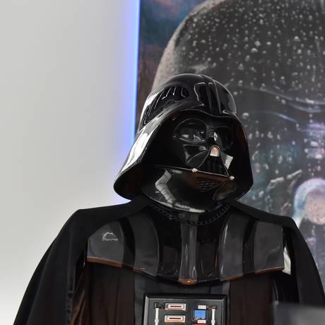 Estátua de Darth Vader Foto: YOSHIKAZU TSUNO / AFP