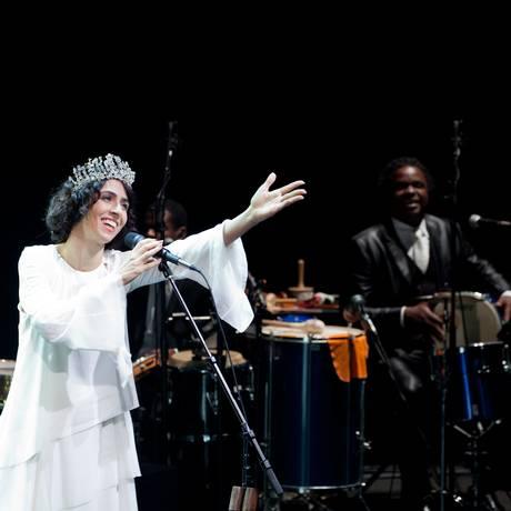 Marisa Monte no show 'Samba Noise' Foto: Divulgação/Bea da Costa