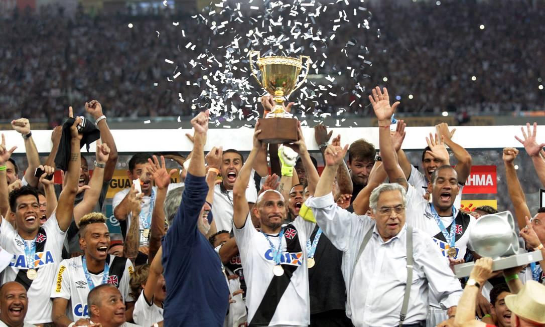 Vasco é o campeão carioca de 2015 Cezar Loureiro / Agência O Globo