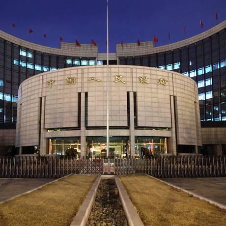 Sede do banco central da China Foto: Tomohiro Ohsumi / Bloomberg News
