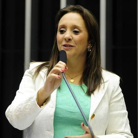 Deputada Renata Abreu (PTN-SP) tem primeiro mandato na Câmara Foto: Gustavo Lima / Agência Câmara