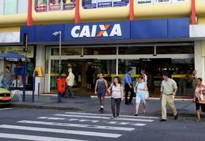 Agência da Caixa no Catete Foto: Letícia Pontual