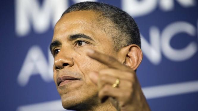 Barack Obama durante anúncio da expansão do preograma