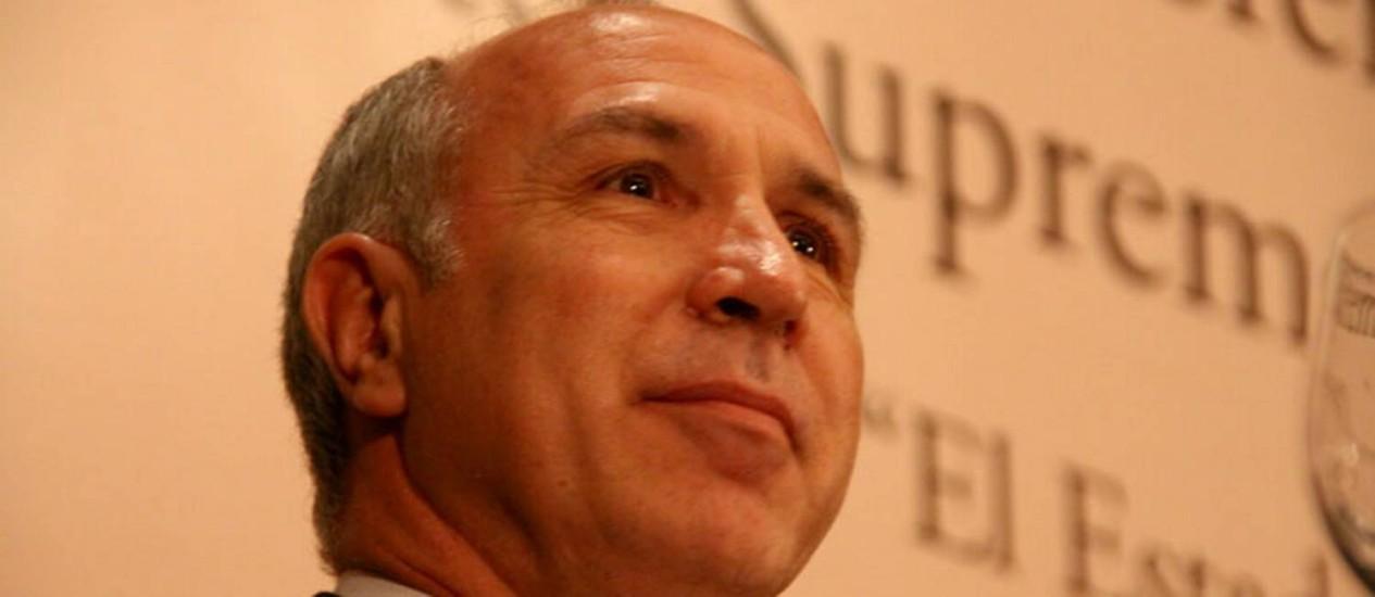 """Ricardo Lorenzetti. Presidente da Corte Suprema argentina alegou """"cansaço moral"""" e afirmou que não assumirá novo mandato Foto: """"Martin Kraut/CIJ""""/Wikimedia Commons"""