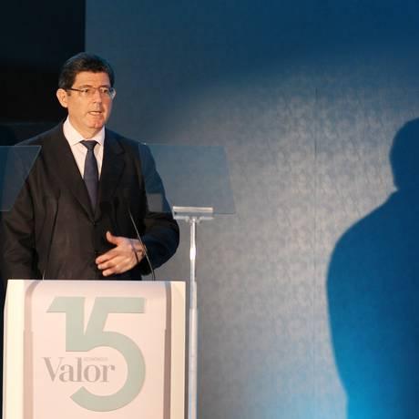 Joaquim Levy espera a aprovação do ajuste fiscal ainda neste semestre Foto: Michel Filho / Agência O Globo