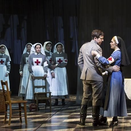 Cena do musical 'Doutor Jivago' Foto: Divulgação/Broadway
